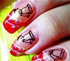 приклад художнього розпису нігтів, фото художнього розпису нігтів